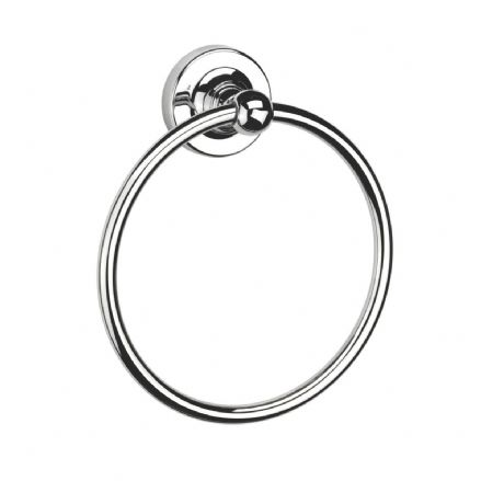 Croydex Worcester Flexi-Fix Towel Ring